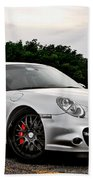 360 Forged Porsche 997tt 2 Beach Towel