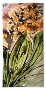 Divine Blooms Beach Towel