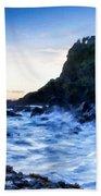 Landscape Show Beach Towel