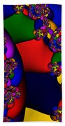 3x1 Abstract 909 Beach Towel