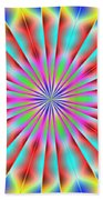 3x1 Abstract 918 Beach Towel