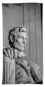 Abraham Lincoln Memorial In Washington Dc Usa Beach Towel