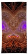 Abstract Graphics Beach Towel