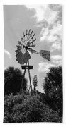 Aermotor Windmill Beach Towel