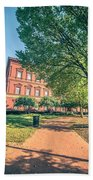 Architecture And Buildings On Streets Of Washington Dc Beach Towel