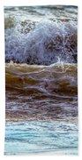 Atlantic Waves Beach Towel