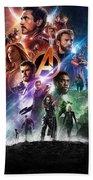 Avengers Infinity War Beach Towel