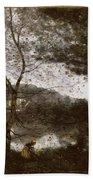 Camille Corot Beach Towel