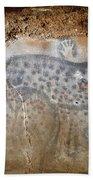 Cave Art: Horse Beach Towel