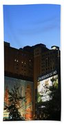 Terminal Tower And Sherwin Williams Building In Cleveland, Ohio, Usa Beach Towel
