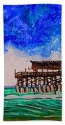 Cocoa Beach Pier Beach Sheet