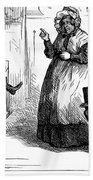 Dickens: Martin Chuzzlewit Beach Towel