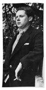 Dylan Thomas (1914-1953) Beach Towel