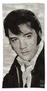 Elvis Presley, Legend  Beach Towel