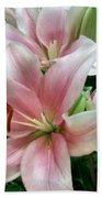 Flower Collection Beach Towel