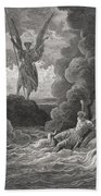 Illustration By Gustave Dore 1832-1883 Beach Towel