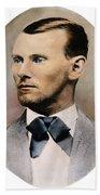 Jesse James, 1847-1882 Beach Towel