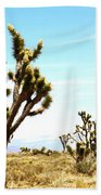 Joshua Tree Desert Beach Towel