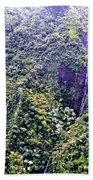 Kauai Water Fall Beach Towel