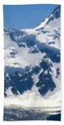 Landscape Painting Oil Beach Towel