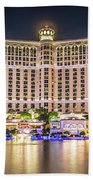 November 2017 Las Vegas Nevada - Scenes Around Bellagio Resort H Beach Sheet