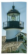 Point Pinos Lighthouse In Monterey California Beach Towel