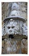 Public Fountain In Dubrovnik Croatia Beach Towel