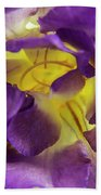 Purple Freesia Beach Towel
