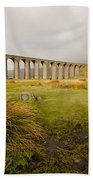 Ribblehead Viaduct Beach Towel