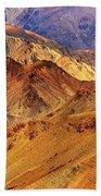 Rocks And Stones Mountains Ladakh Landscape Leh Jammu Kashmir India Beach Towel
