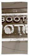 Route 66 - Boots Motel Beach Towel