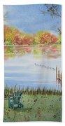 4 Seasons-autumn Beach Sheet