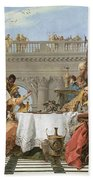 The Banquet Of Cleopatra Beach Towel