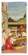 Three Miracles Of Saint Zenobius Beach Towel