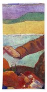 Vincent Van Gogh (1853-1890) Beach Towel