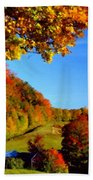 W H Landscape Beach Towel