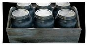 Whiskey Jars In A Crate Beach Towel