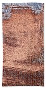 Rusty Metal Beach Towel