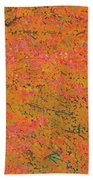 4139 Flaming Maple Beach Towel