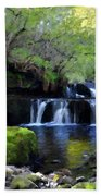 Paintings Of Landscapes Beach Towel