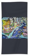 42nd And 8th Street Beach Towel