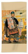 43770 Boris Kustodiev Beach Towel