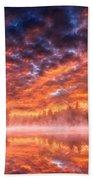 Landscape Acrylic Beach Towel