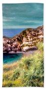 Walls Landscape Beach Towel