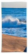 Landscape Oil Painting Beach Towel
