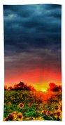 Landscapes To Paint Beach Towel