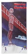 Angel Of The North Beach Towel