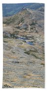 Appalachian Trail - White Mountains New Hampshire Usa Beach Sheet