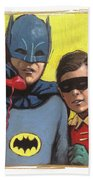 Batman Beach Sheet