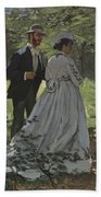 Bazille And Camille Beach Towel